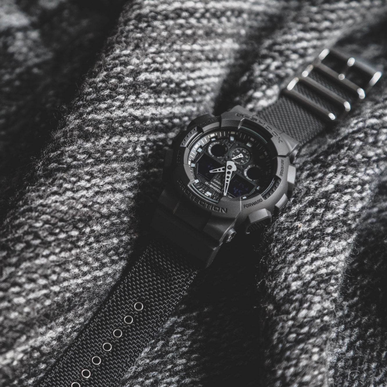 9be3d2a6e337 The G-Shock Military Black Cloth collection will be available from February  23rd