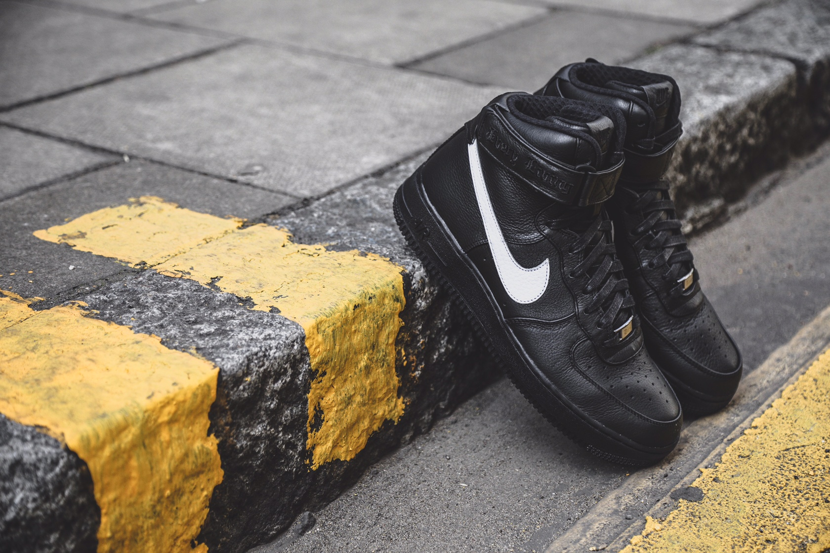 air force 1 pigalle on feet