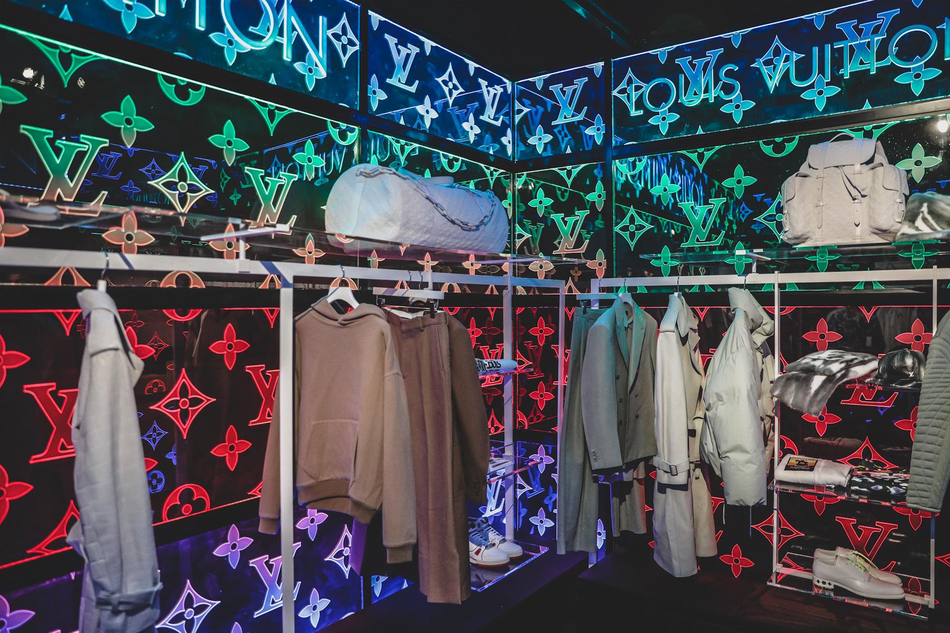 Louis Vuitton SS19 Men s Collection Pop-up 294e7774da30