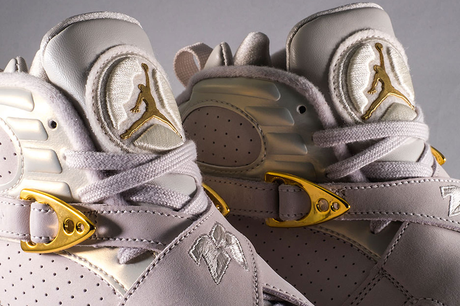 "detailed look 3a2b2 54c71 Air Jordan 8 ""Cigar and Champagne"" Pack."