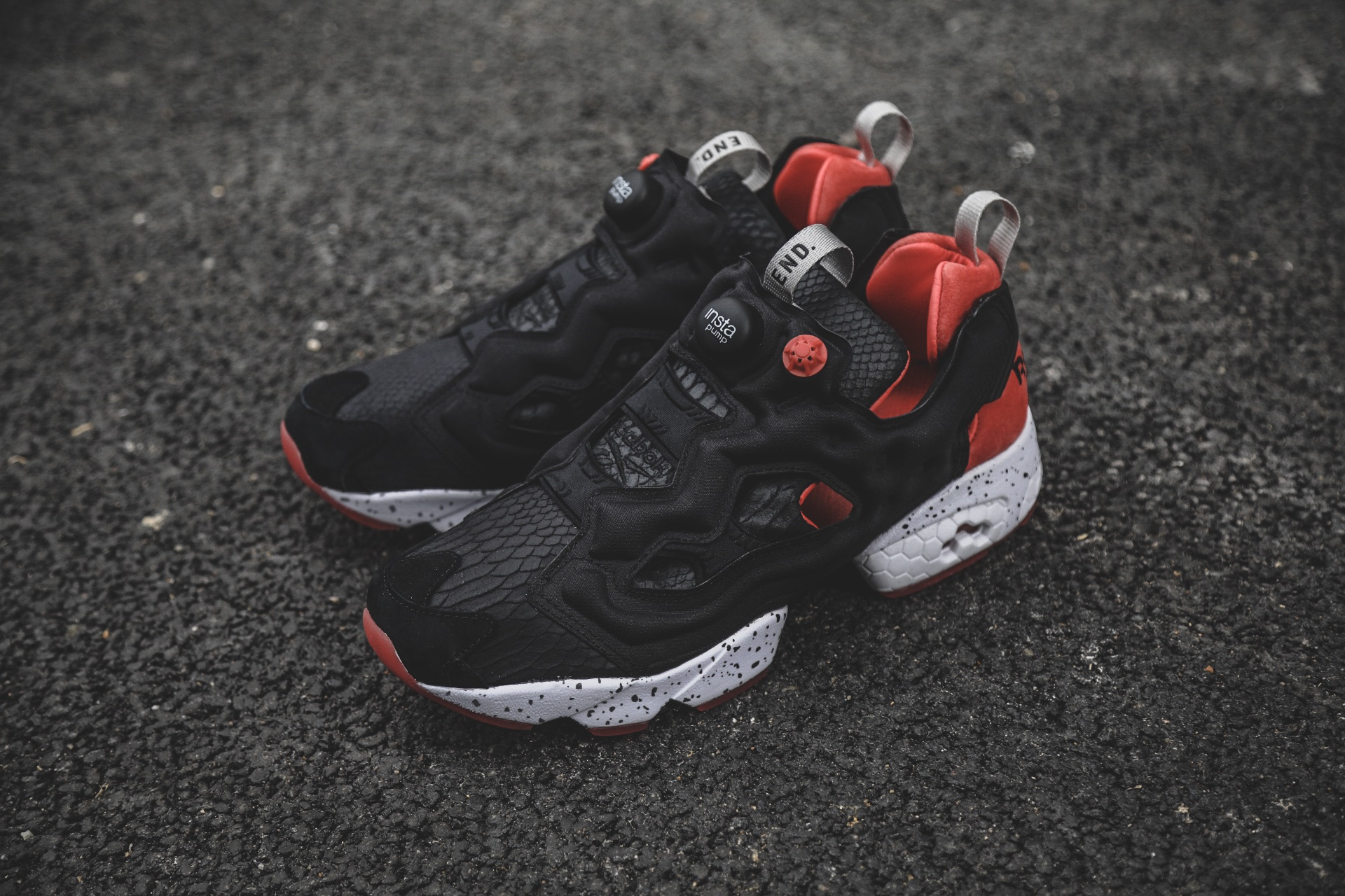 """707216f3e95 The """"Black Salmon"""" Instapump Fury will release on Saturday 18th March at END  Clothing. Scroll down to see exclusive photos of this upcoming release."""